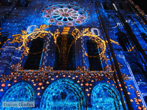 Chartres Light Show