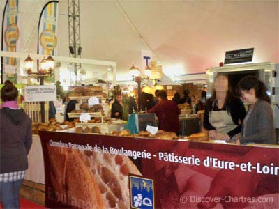 Bakery stand at Artisanales de Chartres