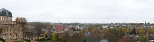 View over Chartres Basse Vill