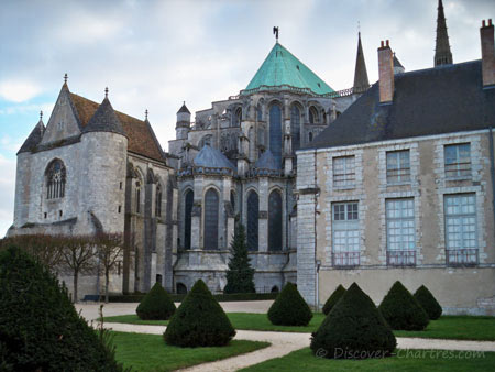 Chartres cathderal and Fine-Art Museum