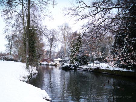Snow in Bords de L'Eure