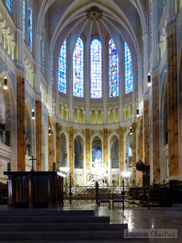 Chartres Cathedral Choir And Chapels