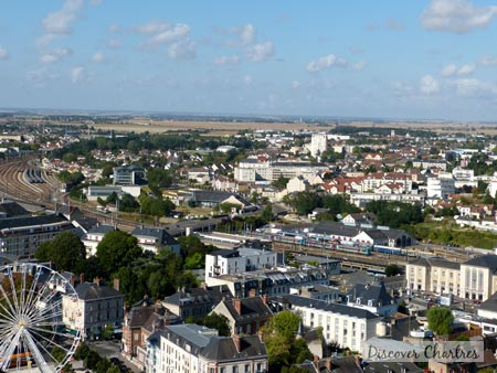 View over Gare de Chartres