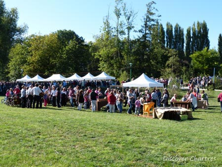 Grape Harvest Festival in Chartres