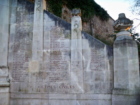 The Great War monument