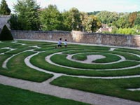 Chartres Labyrinth Garden