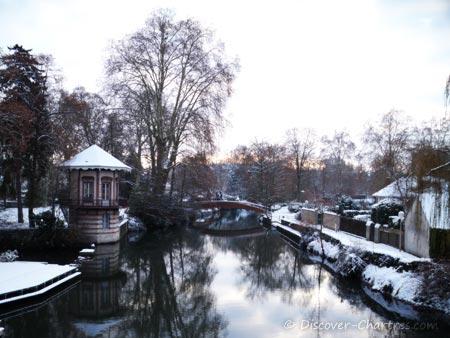 Snow in La Petite Venise