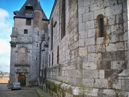 Saint Aignan, Chartres - the Renaissance bell tower
