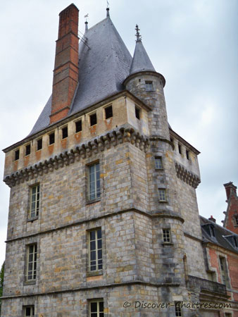 The dungeon of Maintenon castle