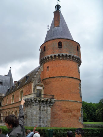 The round tower of Chateau de Maintenon