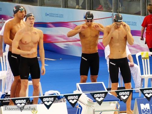 Italian swimming team