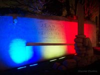 Jean Moulin Monument in Chemin de Memoire