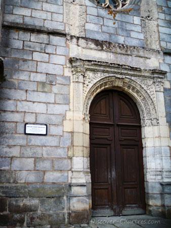 St. Nicolas church in Maintenon