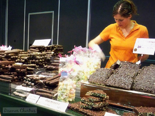 Chartres Chocolate Fair in March