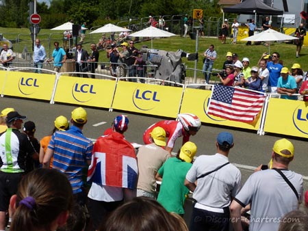 First racer of TDF