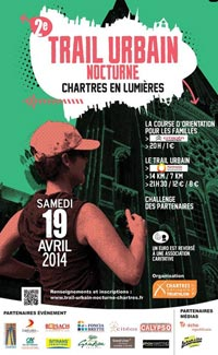 Trail Urban Nocturne in Chartres