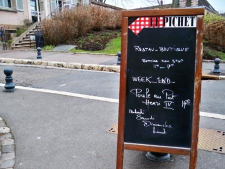 Le Pichet Restaurant - Chartre