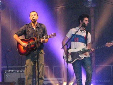 Gerald de Palmas concert in Chartres
