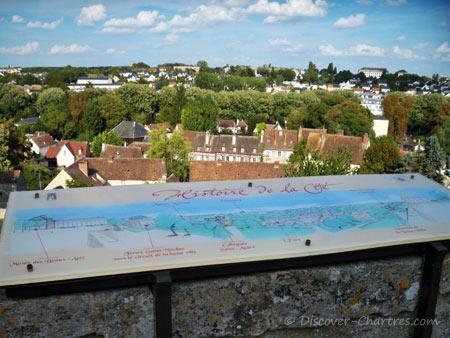 The map board - Histoire de la Cité