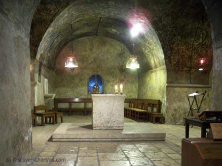 The barrel vault chapel