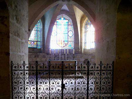The ribbed vault chapel