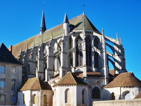 St. Pierre church  -flying buttresses