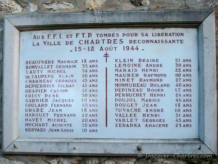 FFI and FTP commemorative plaqu