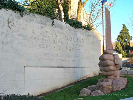 Monument of Jean Moulin
