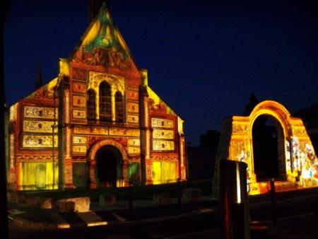 The chapel of Sainte Foy