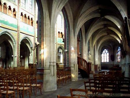 St. Aignan church,Chartres - Another Gothic vaul