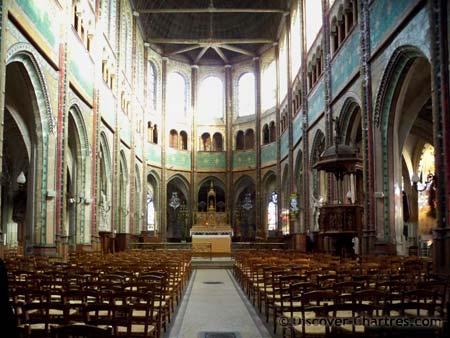 St. Aignan church, Chartres - the nav