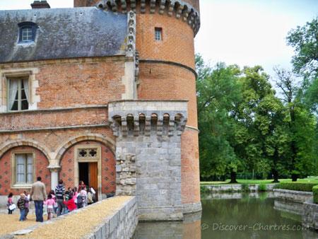 Entry door to Louis XIV's roo