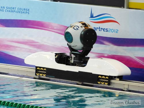 ECSC 2012 in Chartres - the rail camera