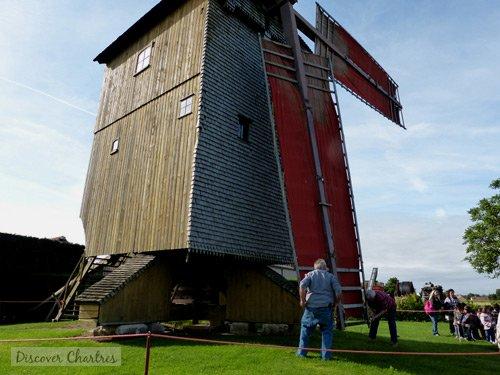Setting Moulin Pelard saill