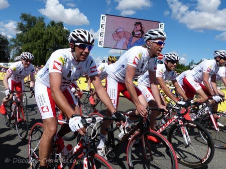 Charity in Tour de France